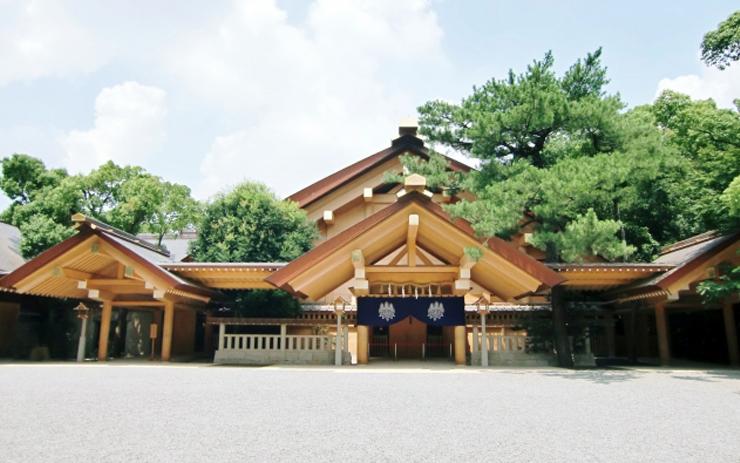 熱田神宮の社殿
