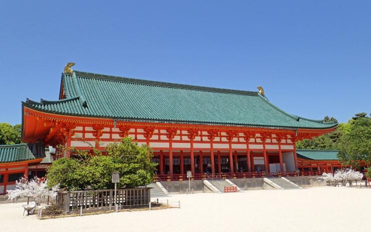 平安神宮 社殿