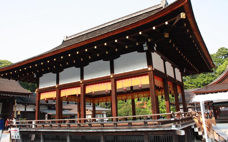 下鴨神社 舞殿