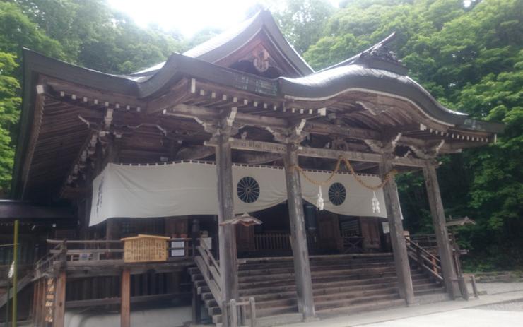 戸隠神社 中社社殿