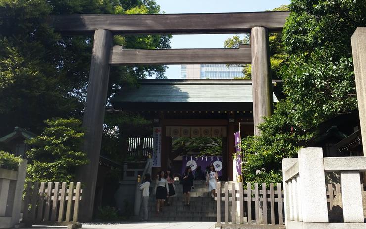 東京大神宮 鳥居