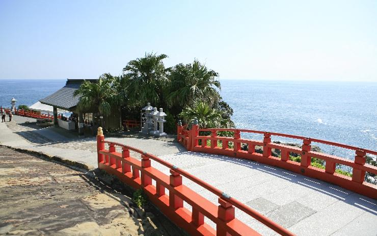 鵜戸神宮の参道
