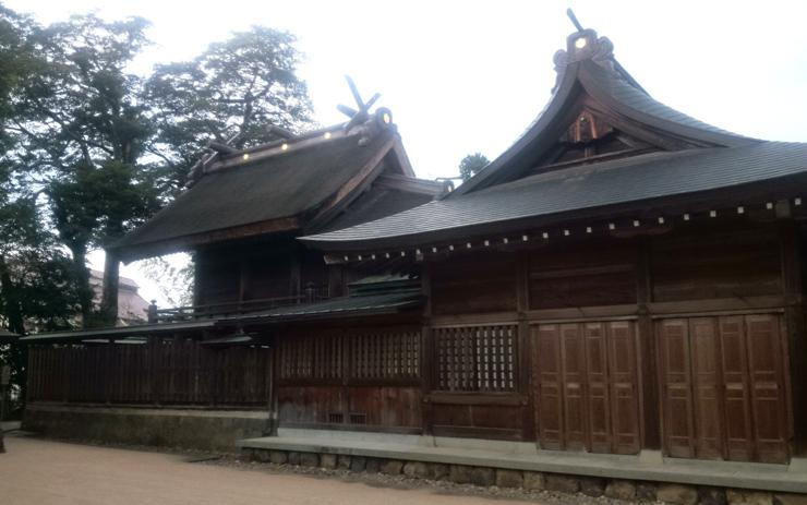 八重垣神社の社殿