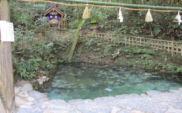 八重垣神社の鏡池