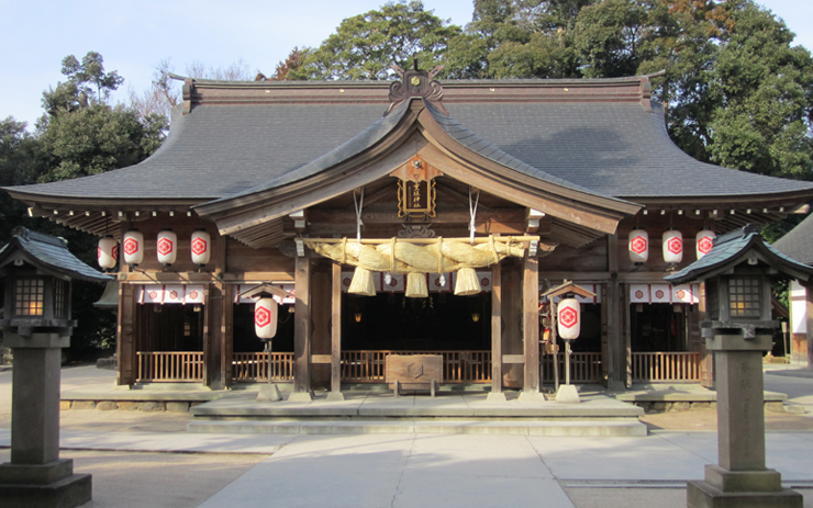 八重垣神社の拝殿